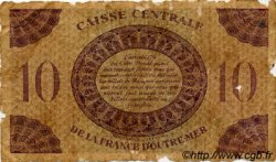 10 Francs type 1943 AFRIQUE ÉQUATORIALE FRANÇAISE  1943 P.16a B