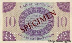 10 Francs AFRIQUE ÉQUATORIALE FRANÇAISE  1943 P.16as pr.NEUF