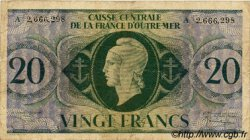20 Francs type 1943 AFRIQUE ÉQUATORIALE FRANÇAISE  1946 P.17d TB