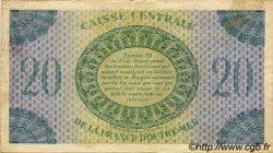 20 Francs AFRIQUE ÉQUATORIALE FRANÇAISE  1946 P.17d TTB