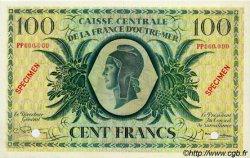 100 Francs type 1943 AFRIQUE ÉQUATORIALE FRANÇAISE  1946 P.18s SPL