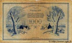 1000 Francs Phénix type 1943 AFRIQUE ÉQUATORIALE FRANÇAISE  1944 P.19a B+