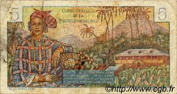 5 Francs Bougainville AFRIQUE ÉQUATORIALE FRANÇAISE  1946 P.20B TB