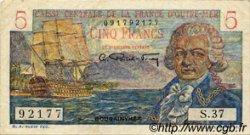 5 Francs Bougainville AFRIQUE ÉQUATORIALE FRANÇAISE  1946 P.20B TTB