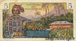 5 Francs Bougainville type 1946 AFRIQUE ÉQUATORIALE FRANÇAISE  1946 P.20B TTB