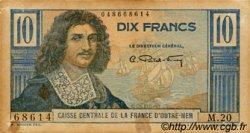 10 Francs Colbert AFRIQUE ÉQUATORIALE FRANÇAISE  1946 P.21 TB+