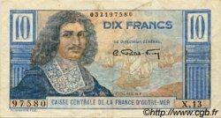 10 Francs Colbert AFRIQUE ÉQUATORIALE FRANÇAISE  1946 P.21 TTB
