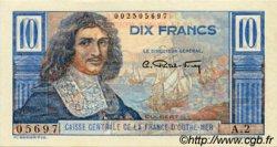 10 Francs Colbert AFRIQUE ÉQUATORIALE FRANÇAISE  1946 P.21 SUP