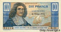 10 Francs Colbert AFRIQUE ÉQUATORIALE FRANÇAISE  1946 P.21 SPL