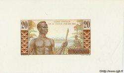 20 Francs AFRIQUE ÉQUATORIALE FRANÇAISE  1946 P.22 NEUF