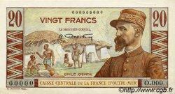 20 Francs AFRIQUE ÉQUATORIALE FRANÇAISE  1946 P.22s pr.SPL