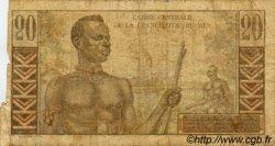 20 Francs Émile Gentil AFRIQUE ÉQUATORIALE FRANÇAISE  1946 P.22 B