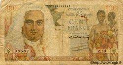 100 Francs La Bourdonnais AFRIQUE ÉQUATORIALE FRANÇAISE  1946 P.24 B