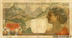 100 Francs La Bourdonnais AFRIQUE ÉQUATORIALE FRANÇAISE  1946 P.24 B+