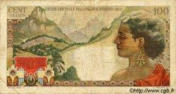 100 Francs La Bourdonnais AFRIQUE ÉQUATORIALE FRANÇAISE  1946 P.24 TB
