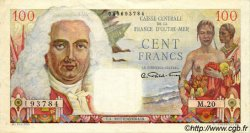 100 Francs La Bourdonnais AFRIQUE ÉQUATORIALE FRANÇAISE  1946 P.24 pr.SUP