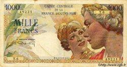 1000 Francs Union Française AFRIQUE ÉQUATORIALE FRANÇAISE  1946 P.26 TB+