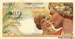 1000 Francs Union Française AFRIQUE ÉQUATORIALE FRANÇAISE  1946 P.26 TTB+
