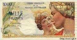 1000 Francs Union Française AFRIQUE ÉQUATORIALE FRANÇAISE  1946 P.26 pr.SUP