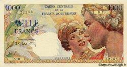 1000 Francs Union Française AFRIQUE ÉQUATORIALE FRANÇAISE  1946 P.26 SUP