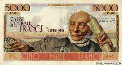 5000 Francs Schoelcher AFRIQUE ÉQUATORIALE FRANÇAISE  1946 P.27 TTB