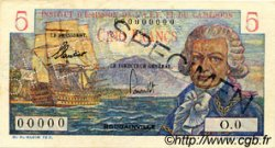 5 Francs Bougainville type 1957 CAMEROUN  1957 P.28s SUP