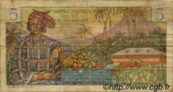 5 Francs Bougainville type 1957 CAMEROUN  1957 P.28 B+