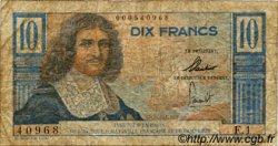 10 Francs Colbert CAMEROUN  1957 P.29 B+