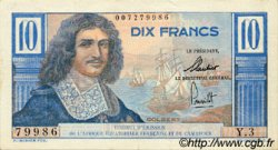 10 Francs Colbert AFRIQUE ÉQUATORIALE FRANÇAISE  1957 P.29 SUP