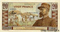 20 Francs AFRIQUE ÉQUATORIALE FRANÇAISE  1957 P.30s SUP