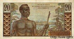 20 Francs CAMEROUN  1957 P.30 TTB+ à SUP