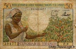 50 Francs type 1957 CAMEROUN  1957 P.31 B