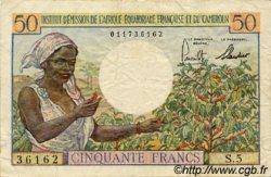 50 Francs type 1957 CAMEROUN  1957 P.31 TTB
