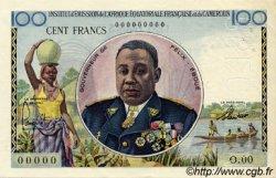 100 Francs type 1956 taille douce CAMEROUN  1956 P.32s SUP+