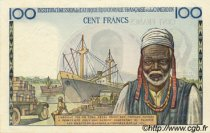 100 Francs type 1956 taille douce CAMEROUN  1956 P.32 TB