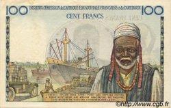 100 Francs type 1956 taille douce CAMEROUN  1956 P.32 pr.SUP