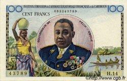100 Francs type 1956 taille douce CAMEROUN  1956 P.32 SPL