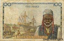 100 Francs type 1956 taille douce CAMEROUN  1956 P.32 pr.NEUF