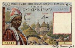 500 Francs type 1957 taille douce CAMEROUN  1957 P.33 SUP+