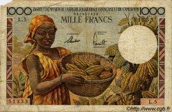 1000 Francs type 1957 taille douce CAMEROUN  1957 P.34 B