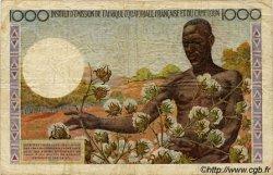 1000 Francs type 1957 taille douce CAMEROUN  1957 P.34 TB