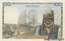 100 Francs type 1956 modifié 1961 AFRIQUE ÉQUATORIALE FRANÇAISE  1961 P.01fs TTB+