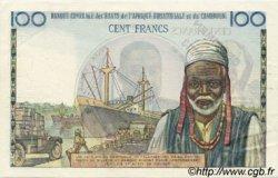 100 Francs type 1956 modifié 1961 AFRIQUE ÉQUATORIALE FRANÇAISE  1961 P.01fs SPL