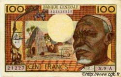 100 Francs type 1962 TCHAD  1962 P.03a SUP