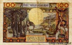 100 Francs type 1962 CENTRAFRIQUE  1962 P.03b TB