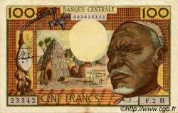 100 Francs type 1962 CENTRAFRIQUE  1962 P.03b TTB