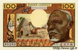 100 Francs type 1962 CENTRAFRIQUE  1962 P.03b NEUF