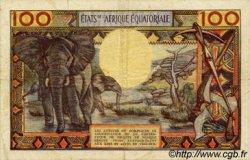 100 Francs type 1962 CONGO  1962 P.03c TB+