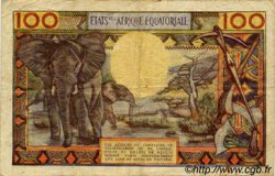 100 Francs type 1962 GABON  1962 P.03d TB+