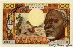 100 Francs type 1962 CENTRAFRIQUE  1962 P.03bs SUP+